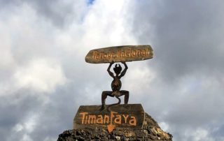 Timanfaya National Park sign
